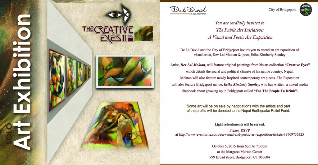 Invitation of art exhibiton-2015